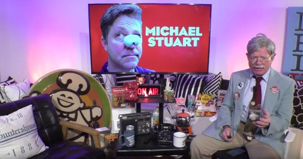 """Uncle Henry and Michael """"Marathon Mike"""" Stuart"""
